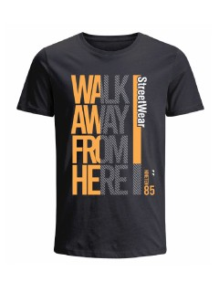 Camiseta para hombre en Tejido De Punto 100% Algodón Tubular Manga Corta marca Nexxos 39800-008