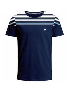 Camiseta para hombre en Tejido De Punto 100% Algodón Peinado Abierto Maga Corta marca Nexxos 39814-005
