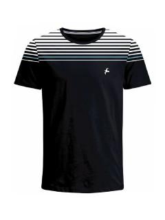 Camiseta para hombre en Tejido De Punto 100% Algodón Peinado Abierto Maga Corta marca Nexxos 39814-008