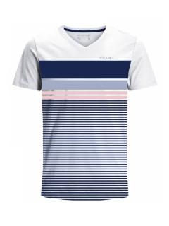 Camiseta para hombre en Tejido De Punto 96% Algodón 4% Elastano Maga Corta marca Nexxos 39815-000