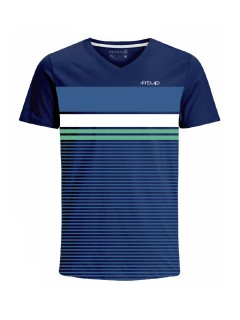 Camiseta para hombre en Tejido De Punto 96% Algodón 4% Elastano Maga Corta marca Nexxos 39815-005