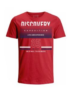Camiseta para hombre en Tejido De Punto 100% Algodón Tubular Maga Corta marca Nexxos 39821-001