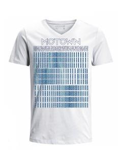 Camiseta para hombre en Tejido De Punto 100% Algodón Tubular Maga Corta marca Nexxos 39824-000