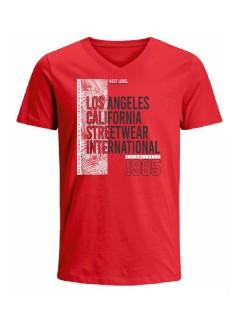Camiseta para hombre en Tejido De Punto 100% Algodón Tubular Maga Corta marca Nexxos 39829-001