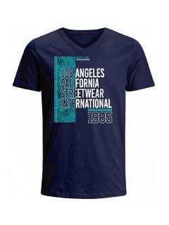 Camiseta para hombre en Tejido De Punto 100% Algodón Tubular Maga Corta marca Nexxos 39829-005
