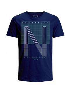 Camiseta para hombre en Tejido De Punto 96% Algodón 4% Elastano Manga Corta marca Nexxos 39839-005