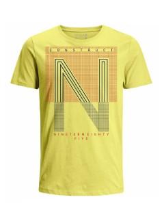 Camiseta para hombre en Tejido De Punto 96% Algodón 4% Elastano Manga Corta marca Nexxos 39839-080