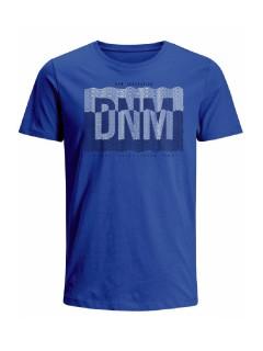 Camiseta para hombre en Tejido De Punto 96% Algodón 4% Elastano Maga Corta marca Nexxos 39888-374