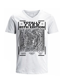 Camiseta para hombre en Tejido De Punto 100% Algodón Tubular Manga Corta marca Nexxos 39892-000