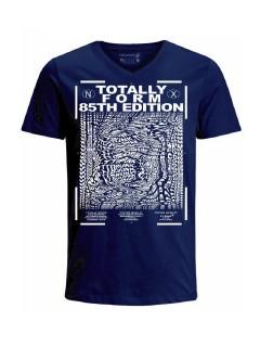 Camiseta para hombre en Tejido De Punto 100% Algodón Tubular Manga Corta marca Nexxos 39892-005