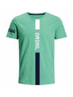 Camiseta para hombre en Tejido De Punto 100% Algodón Peinado Abierto Manga Corta marca Nexxos 39925-410