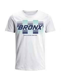 Camiseta Codigo Bronxs para hombre en Tejido De Punto 96% Algodón 4% Elastano Manga Corta marca Nexxos 100109-000