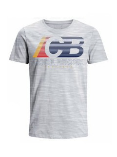 Camiseta Codigo Bronxs para hombre en Tejido De Punto 100% Algodón Peinado Abierto Manga Corta marca Nexxos 100113-018