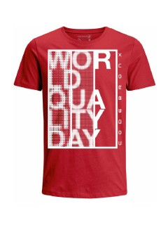Camiseta Codigo Bronxs para hombre en Tejido De Punto 100% Algodón Tubular Manga Corta marca Nexxos 100114-001