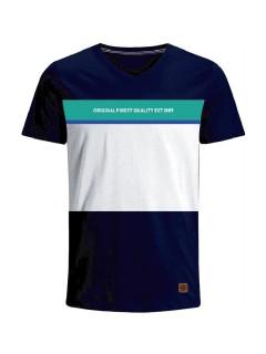 Camiseta para Hombre en Tejido de Punto 96% Algodón 4% Elastano Manga Corta  Nexxos 39400