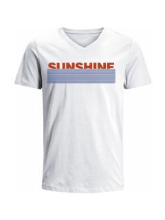 Camiseta para Hombre en Tejido de Punto 100% Algodón Peinado Abierto Manga Corta  Nexxos 39521