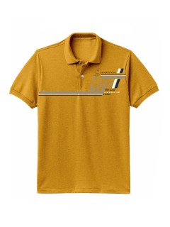 Camiseta para Hombre Tipo Polo en Tejido Fraccionado 96% Algodón 4% Elastano Manga Corta Nexxos 39612-067