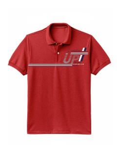 Camiseta para Hombre Tipo Polo en Tejido Fraccionado 96% Algodón 4% Elastano Manga Corta Nexxos 39612-001