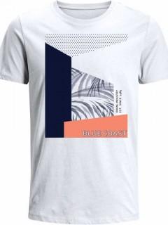Camiseta para Niño en Tejido de Punto 96% Algodón 4% Elastano Manga Corta  Nexxos 45228