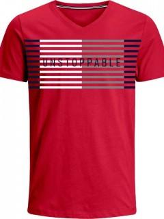 Camiseta para Hombre en Tejido de Punto 96% Algodón 4% Elastano Manga Corta  Nexxos 39380