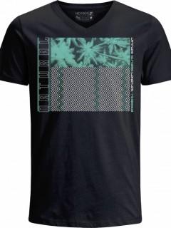 Camiseta para Hombre en Tejido de Punto 100% Algodón Peinado Abierto Manga Corta Nexxos 39438