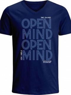 Camiseta para Hombre en Tejido de Punto 100% Algodón Tubular Nexxos 39531